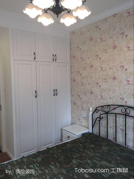 卧室米色衣柜现代风格装饰设计图片