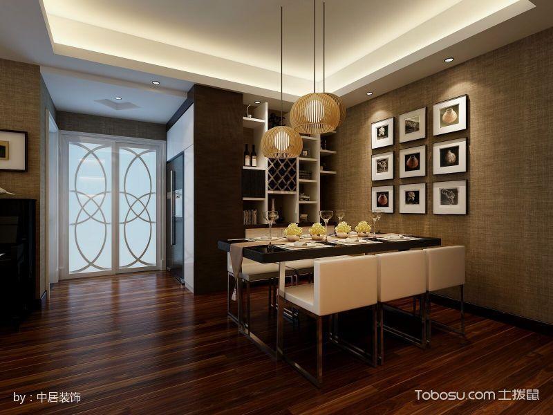 100平米现代日式风格小复式家居装修效果图