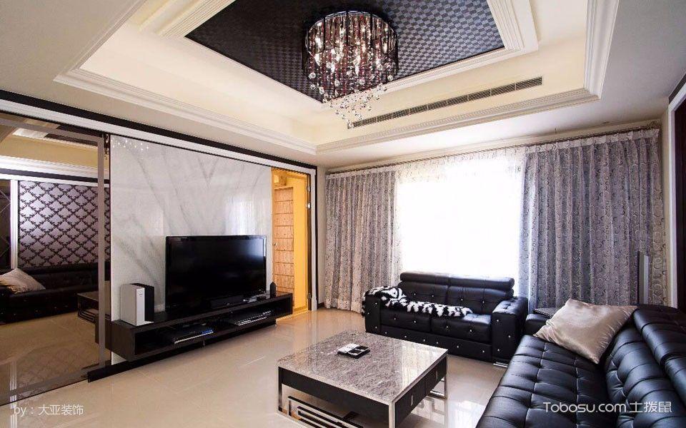 110平现代风格舒适温馨家装效果图