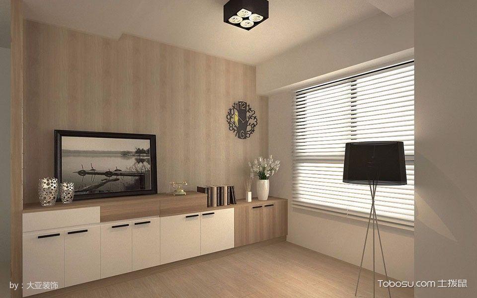 客厅黑色灯具现代简约风格装潢图片