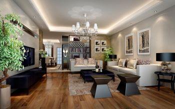 水木春城四室两厅一厨两卫户型现代简约风格装修效果图