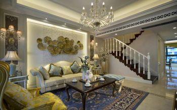 120平米法式简约设计别墅装修效果图