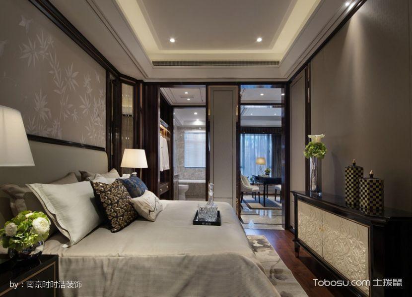 卧室白色床新古典风格效果图