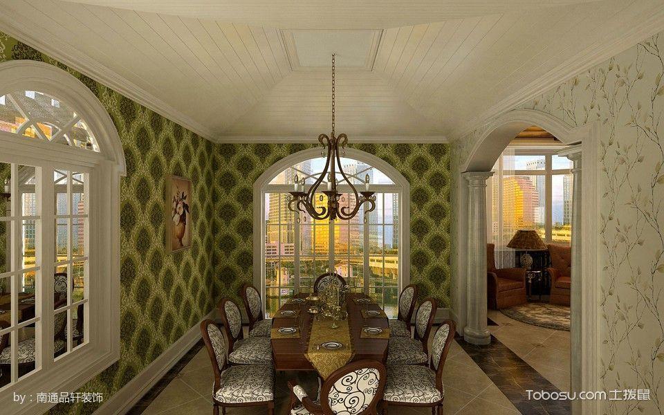 五洲御景城175平欧式风格3房2厅装修效果图