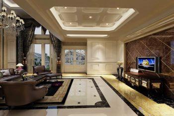 锦绣花园120平欧式三房两厅装修效果图