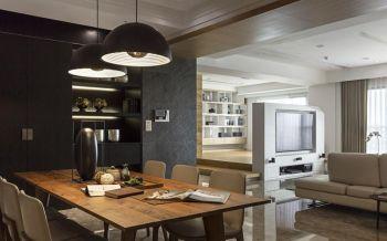 橄榄树雅苑110平简约风格三居室装修效果图