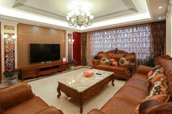 苏园144平现代欧式风格四房两厅装修效果图
