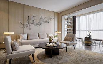 南昌绿地悦城144平现代简中四房两厅装修效果图