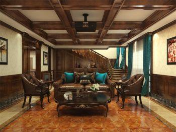 金地湖城大境150平奢华欧式风格别墅装修效果图