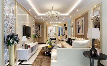 名邦西城国际100平简欧三房两厅装修效果图