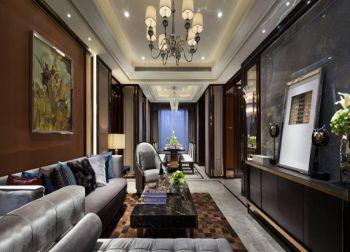 世茂君望墅110平新古典风格三房两厅装修效果图