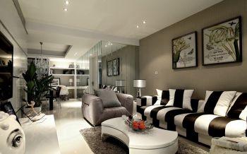 阳光清华140平米现代简约三房两厅装修效果图