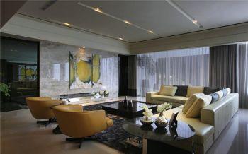 东都华庭现代奢华风三房两厅一卫装修效果图