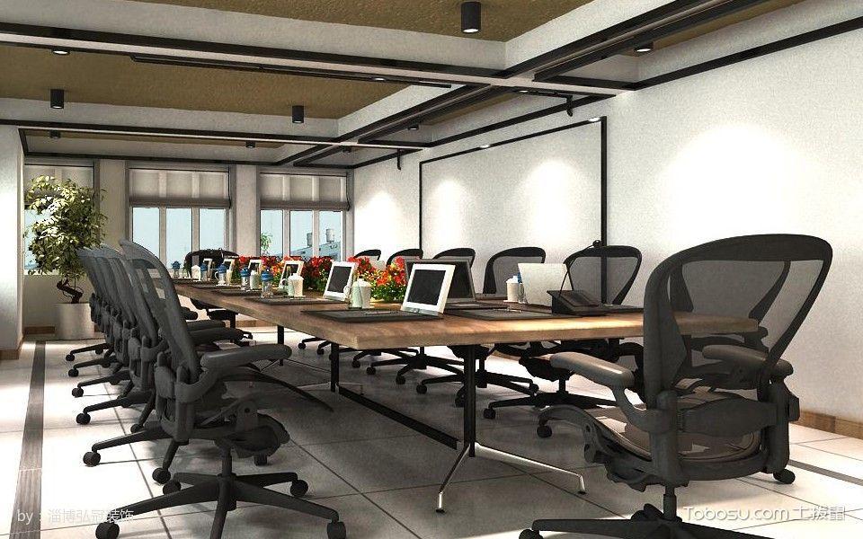 北京泽农伟业办公室装修效果图