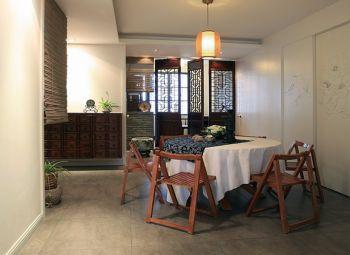 星河花园120平中式乡村风格三房两厅装修设计图