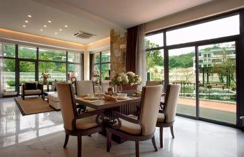 凌奥花园现代风格庭院四房两厅装修效果图