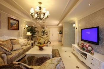 紫金南苑100平欧式田园三房两厅装修效果图