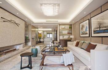 水木天成120平简单混搭风格四房两厅装修效果图