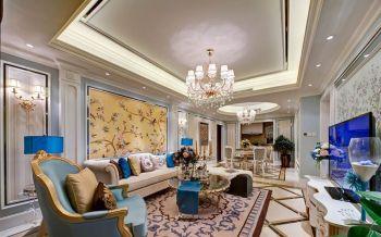 180平绵阳混搭风格大户型四房两厅装修效果图