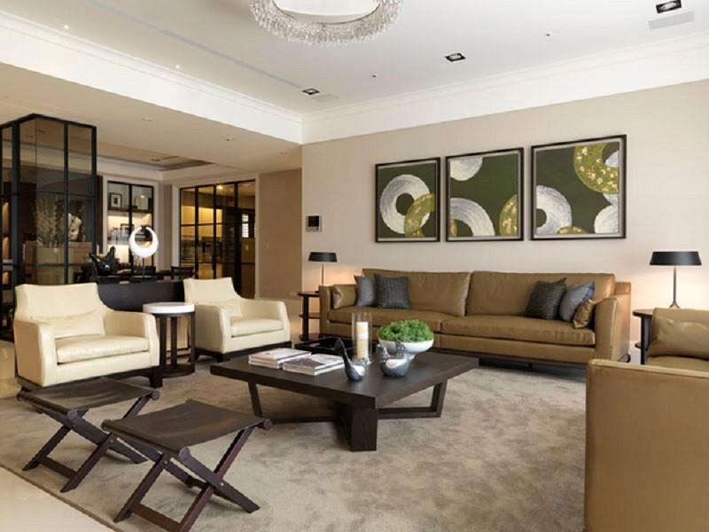 2室2卫2厅130平米现代中式风格