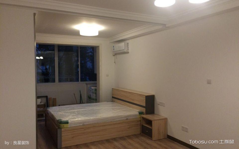 卧室白色灯具现代风格装修图片