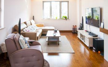 客厅咖啡色走廊现代风格装饰效果图