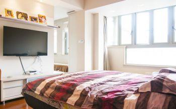 卧室彩色床现代风格装潢效果图