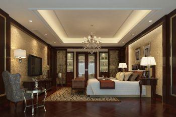卧室白色吊顶欧式风格装饰图片