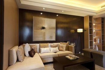 中海国际90平米现代简约风格二居室装修效果图