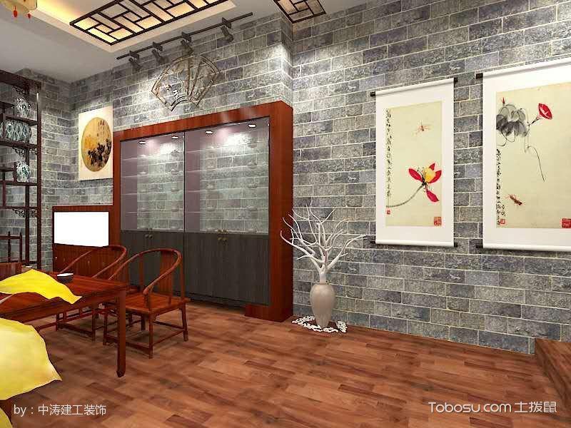 2017茶楼地板装修图片
