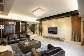 格调竹境120平米现代风格别墅装修效果图