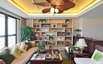碧桂园120平米混搭风格平层大四居装修效果图