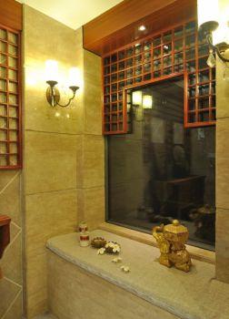 150平米混搭式多风格黄色三居室装修效果图