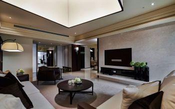 冰雪花园110平米现代简约质感家居设计装修效果图