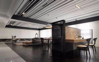 120平米简约豪华设计四居室装修效果图