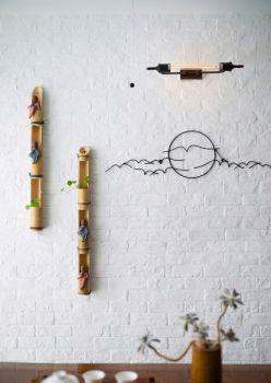 墨香画苑120平米简中式套房装修效果图