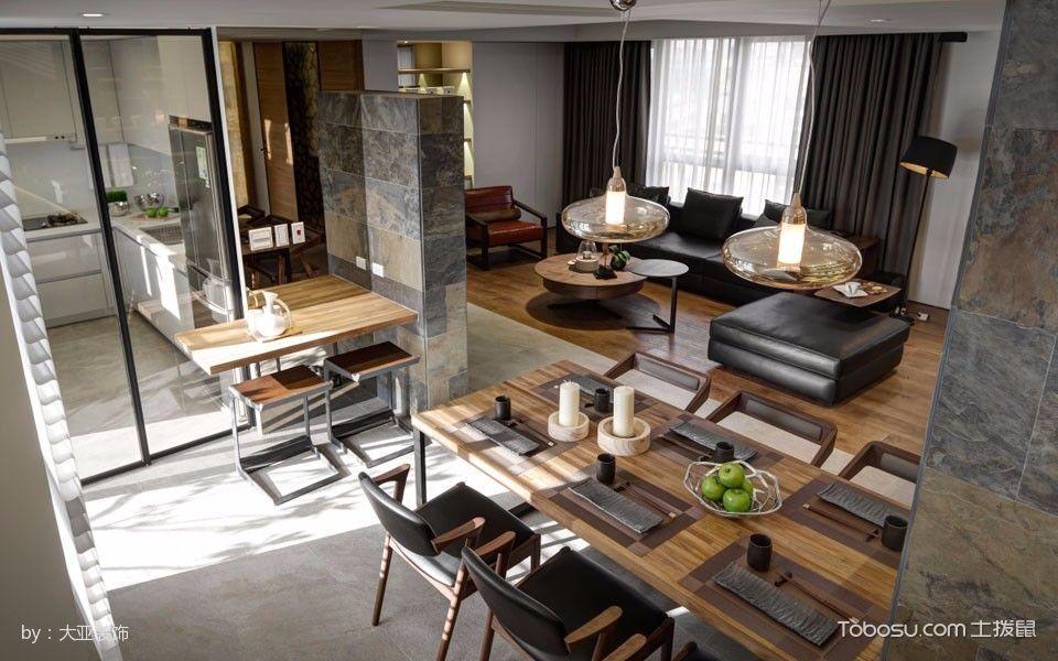 餐厅黄色细节现代简约风格装饰图片