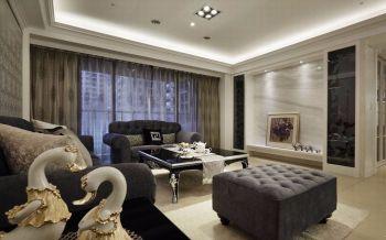 90平米简欧古典家居套房米色装修效果图