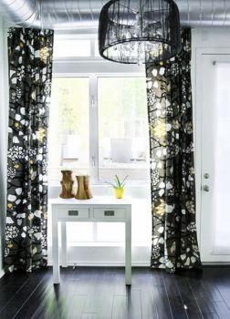 混搭风格100平米彩色舒适小别墅装修效果图