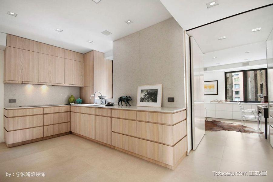 厨房白色走廊现代简约风格装修图片