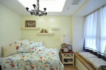 卧室白色窗台地中海风格装修效果图