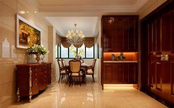 餐厅黄色走廊现代欧式风格装饰设计图片