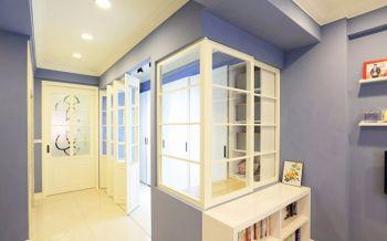 玄关米色走廊美式风格装修图片