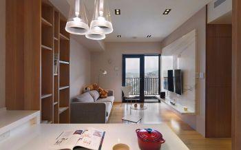 80平米黄色简约家居套房装修设计样板图片