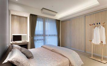 卧室黄色衣柜简约风格装潢设计图片