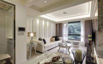 现代古典风格装修两居室案例