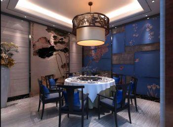 中式新概念餐馆装修效果图