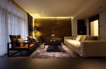 聚水园现代风格三居室装修图
