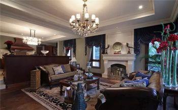 美式风格别墅设计案例效果图
