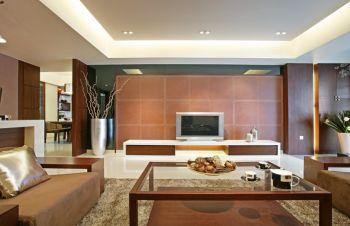 明和里现代中式典雅风格三居室